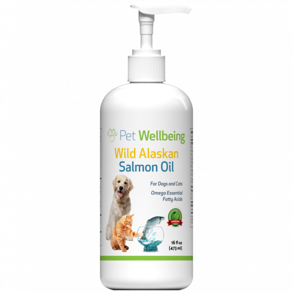 WILD ALASKAN SALMON OIL 16 OZ FOR DOGS AND CATS